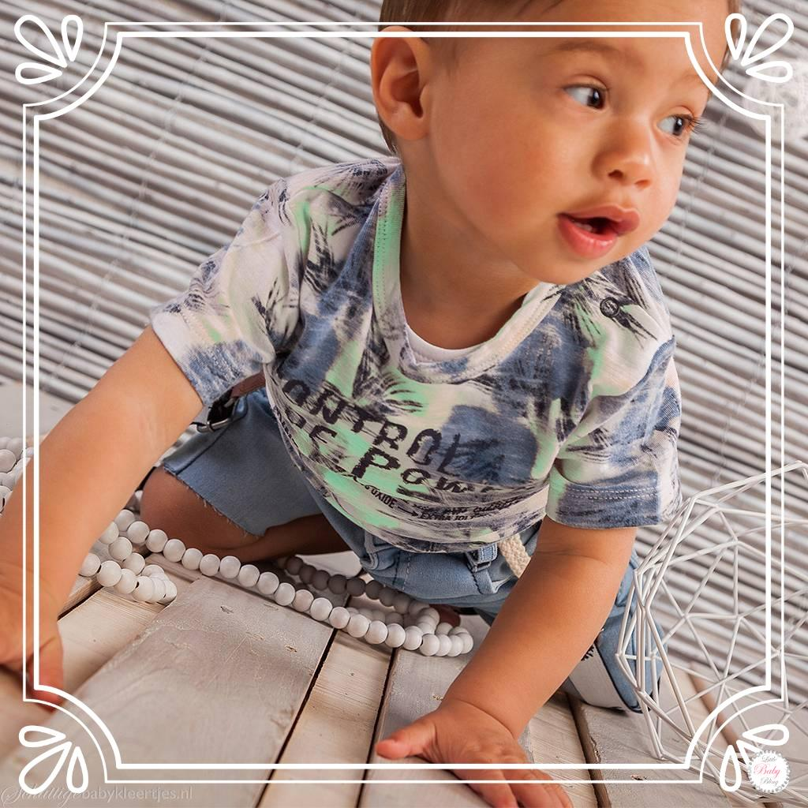 Dirkje Babykleding.Dirkje Babykleding T Shirt Control Of Power Mint D 4 Ea2
