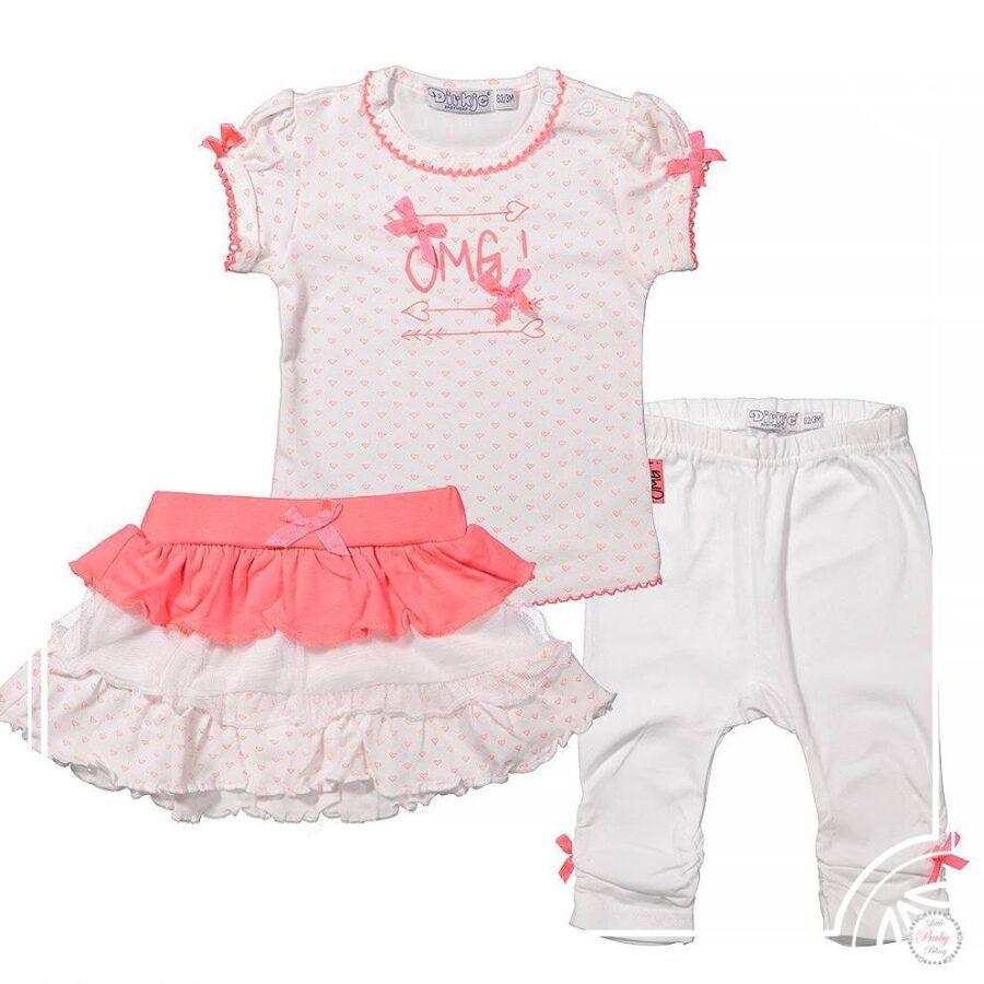 Babykleding Roze.Dirkje Babykleding Setje Omg Neon Roze Dirkje Baby F96 Littlebabybling