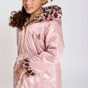Angel's Face Winterjas Roxanne Leopard Tea Rose